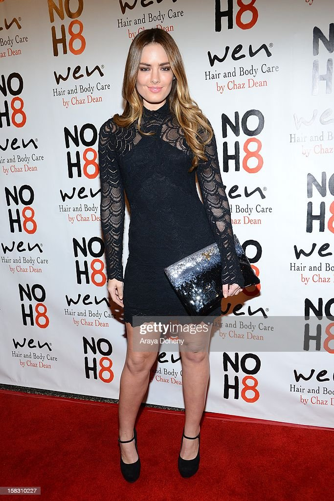 Beau Dunn arrives at the NOH8?s 4th Anniversary celebration at Avalon on December 12, 2012 in Hollywood, California.