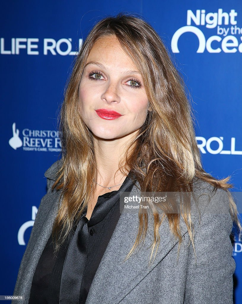 Beau Garrett arrives at The Life Rolls On Foundation's 9th Annual Night By The Ocean held at The Ritz-Carlton on November 10, 2012 in Marina del Rey, California.