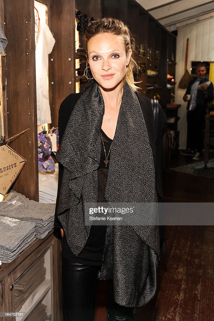 Beau Garrett attends TOMS And Haitian Activist Bryn Mooser Host A Private Event To Celebrate Haitian Culture at TOMS Flagship Store on March 26, 2013 in Venice, California.