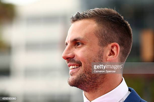 Beau Ryan arrives at the 28th Annual ARIA Awards 2014 at the Star on November 26 2014 in Sydney Australia