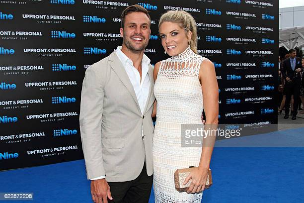 Beau Ryan Erin Molan pose during the Channel Nine Up fronts at The Star on November 8 2016 in Sydney Australia