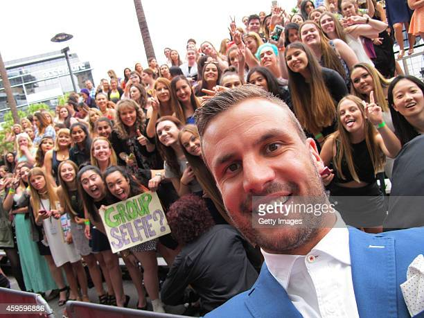 Beau Ryan takes a selfie at the 28th Annual ARIA Awards 2014 at the Star on November 26 2014 in Sydney Australia