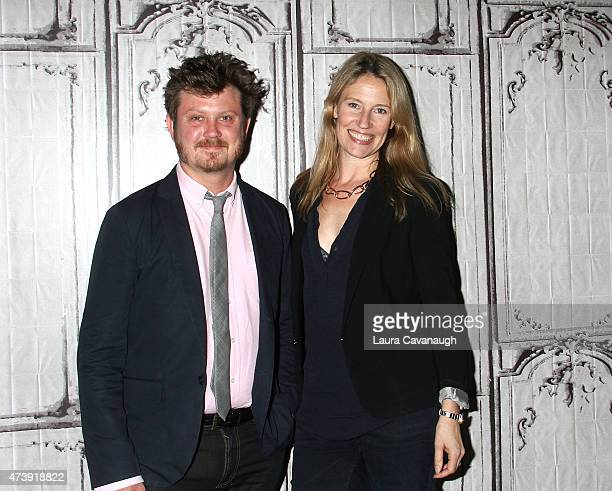 Beau Willimon and Jennifer Baumgardner attend AOL Build Speakers Series Beau Willimon and Jennifer Baumgardner at AOL Studios In New York on May 18...