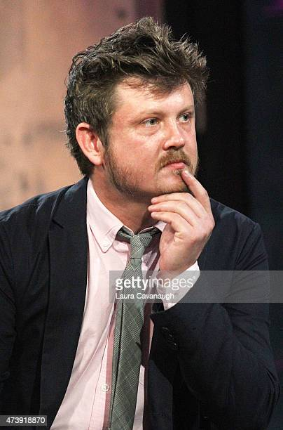Beau Willimon attends AOL Build Speakers Series Beau Willimon and Jennifer Baumgardner at AOL Studios In New York on May 18 2015 in New York City