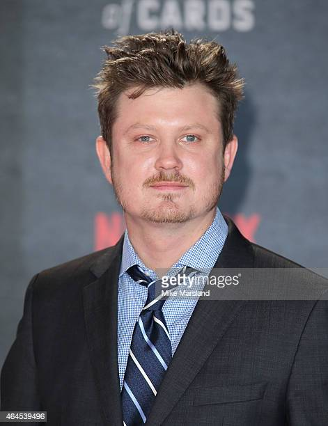 Beau Willimon attends the World Premiere of 'House of Cards' Season 3 at The Empire Cinema on February 26 2015 in London England