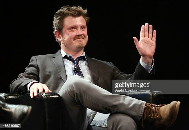 Beau Willimon creator of Netflix series 'House of Cards' attends Future Of Film Panel Stories By Numbers 2014 Tribeca Film Festival at SVA Theater on...