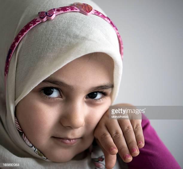 Beautiful a little Turkish girl
