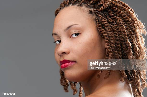 Beautiful African American Young Woman