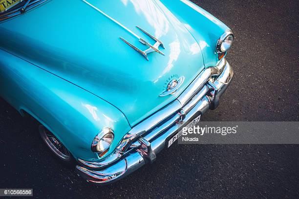 Beautiful american car on Havana street, Cuba