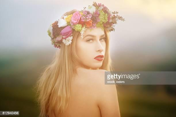 beautiful and fairy