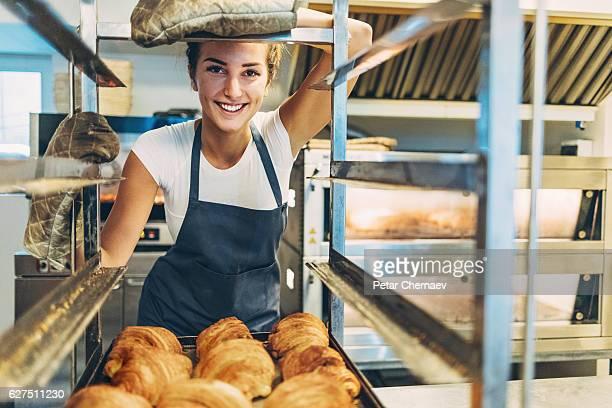 Beautiful baker