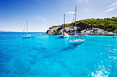 Beautiful seascape, Antipaxos island, Greece