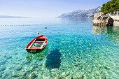 Seashore near Brela, Croatia