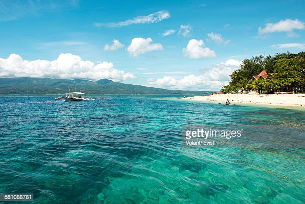 Beautiful beach and sea in south Cebu, Philippines