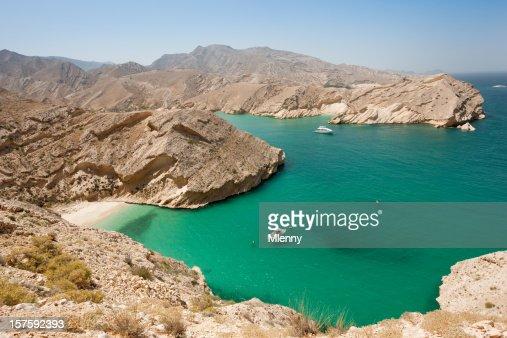 Beautiful Beach Arabian Lagoon Oman