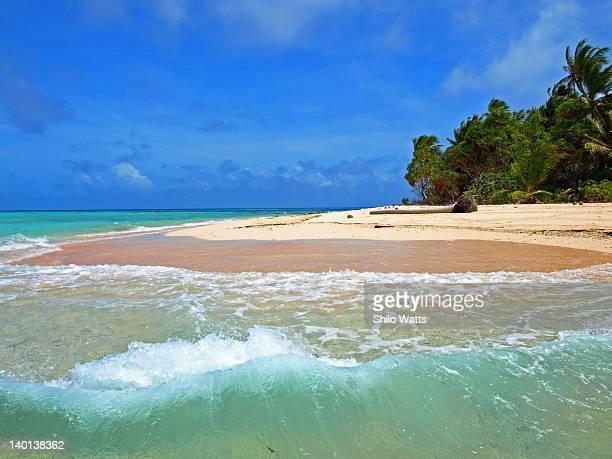 Beautiful beach in Marshall Islands