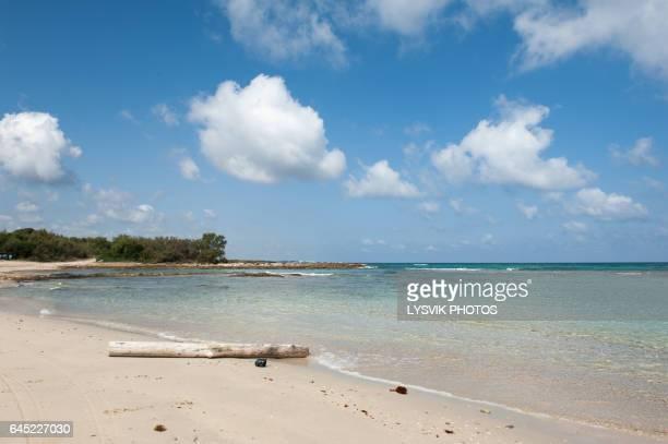 Beautiful beach in nature reserve Torre Guaceto, Brindisi