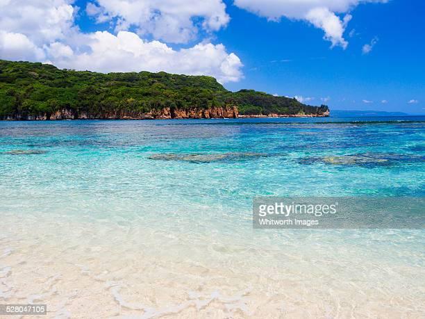 Beautiful beach on Tanna Island, Vanuatu