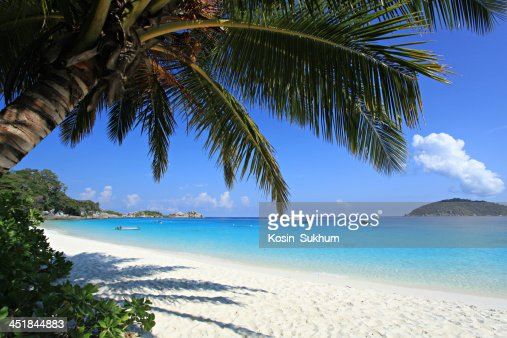 Beautiful Beach Similan Islands.Thailand, : Stock Photo