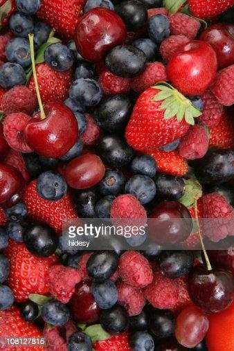 Beautiful Berries (XXL) : Stock Photo