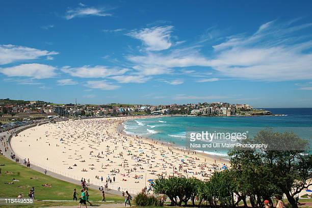 Beautiful bondi beach in Sydney, Australia