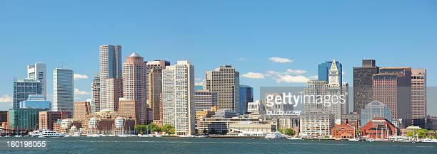 Beautiful Boston City Panorama