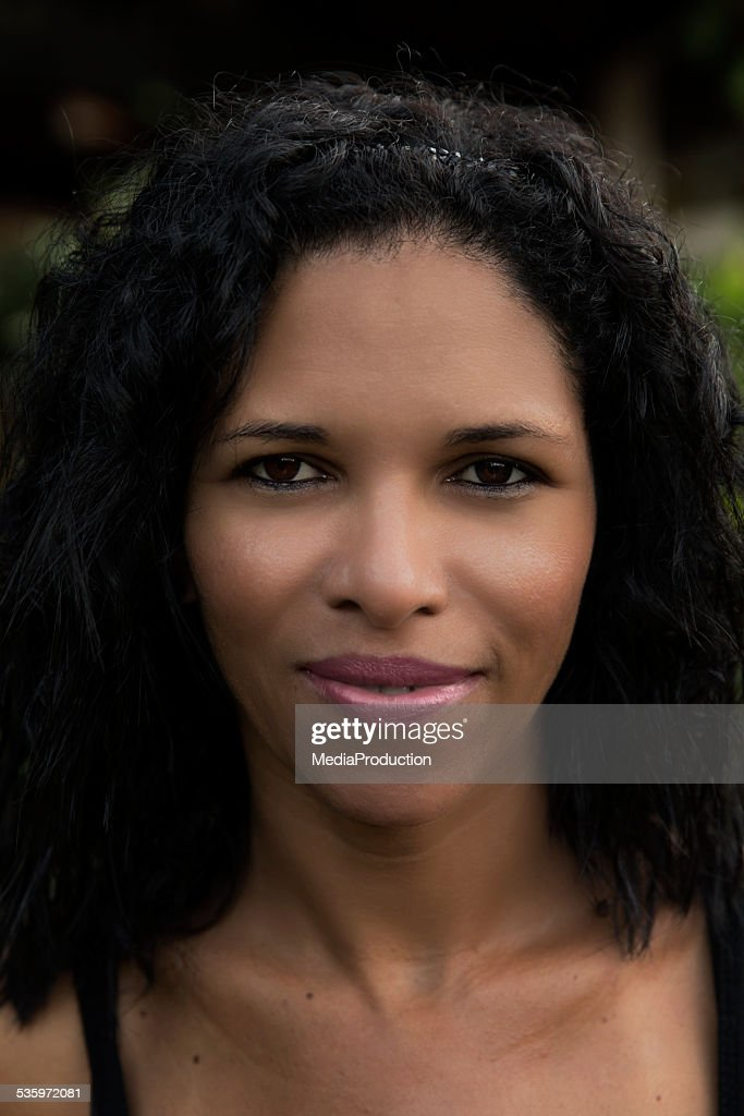 Beautiful Brazilian native girl : Stock Photo