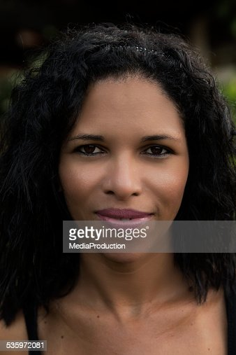 Beautiful Brazilian native girl : Stock Photo