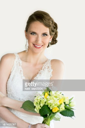 Beautiful bride : Bildbanksbilder