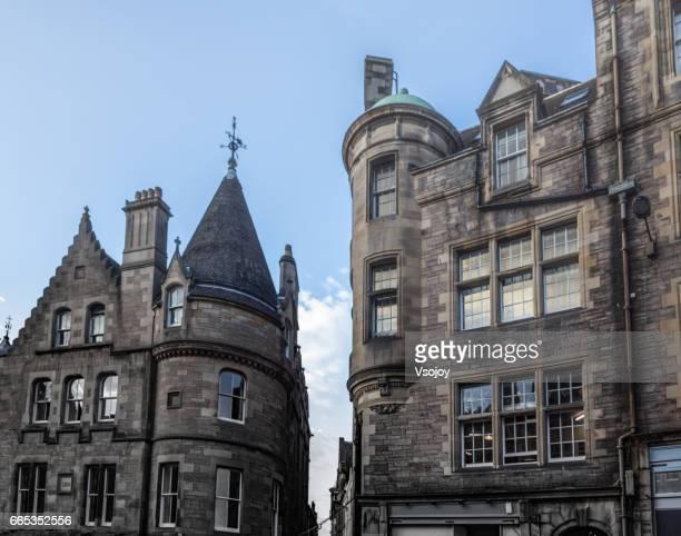 Beautiful buildings in the old town, Edinburgh