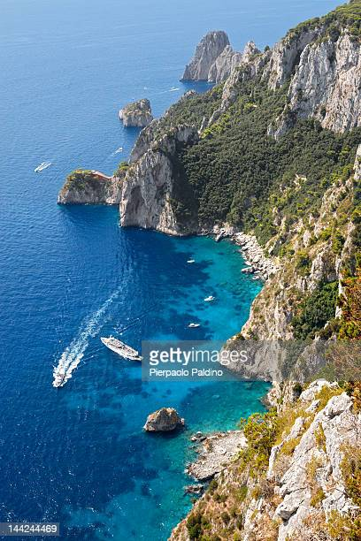 Beautiful Capri's sea