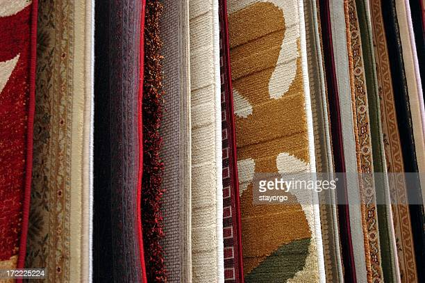 Beautiful carpet samples to match any room