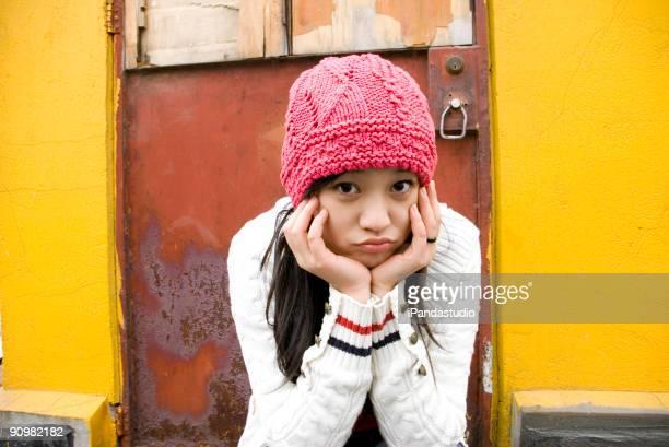 美しい中国の少女
