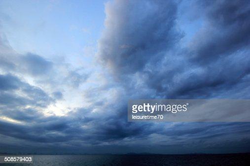 Schöne cloud : Stock-Foto