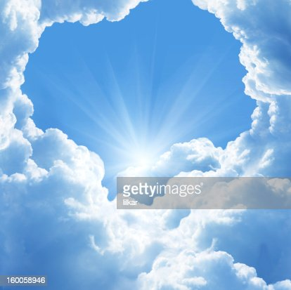 beautiful clouds : Stock Photo