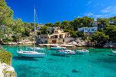 Beautiful coast and harbour of Cala Figuera -  Spain, Mallorca