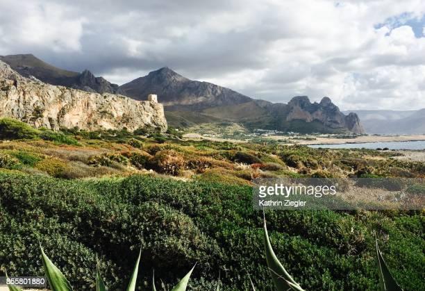 Beautiful coastline near San Vito lo Capo, Sicily