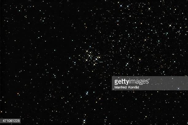 Schöne Farbige Sterne, Custer Mo29 (weniger spikes