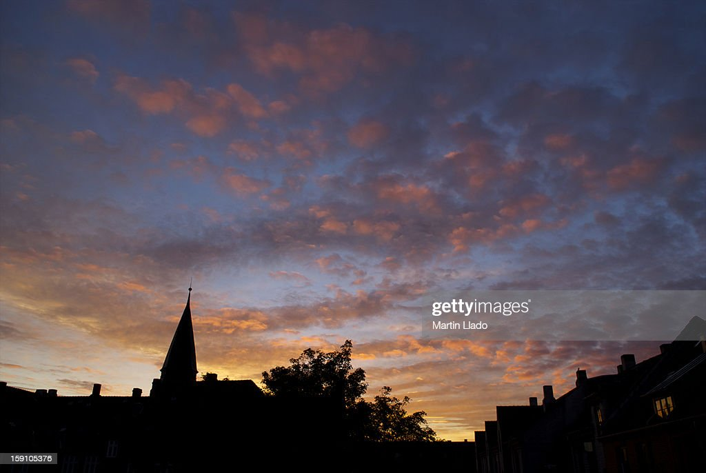 Beautiful Copenhagen dawn : Stock Photo
