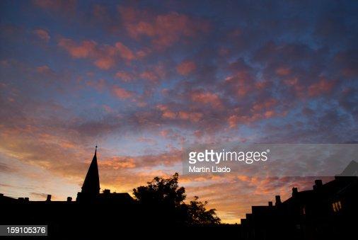 Beautiful Copenhagen dawn : Stock Photo