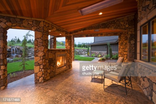 Patio Stock Photos And Pictures Getty Images