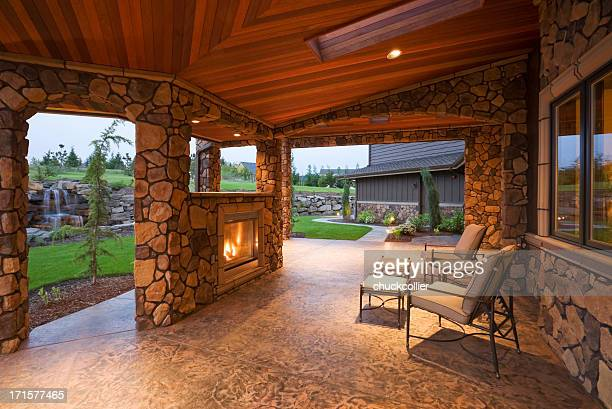 Beautiful Covered Patio