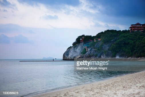 A beautiful day at the beach. : Stock Photo