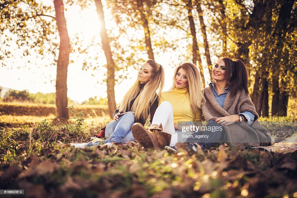 Beautiful day in park : Stock Photo