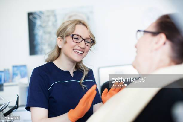 Beautiful dentist doctor