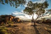 Devil's Marbles,Devils Marbles Conservation Reserve, Northern Territory, Australia.