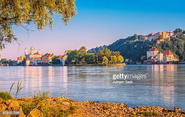Beautiful early summer morning in Passau