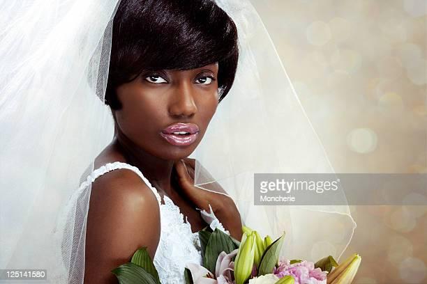 Belle mariée ethnique