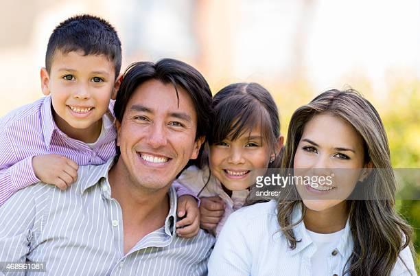 Hermoso Retrato de familia