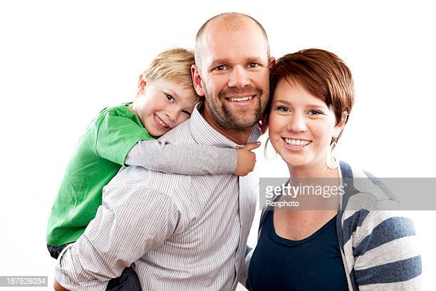 Beautiful Family Smiling
